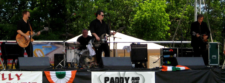 Your Favorite Irish Band, Paddy and the Pale Boys at Musikfest